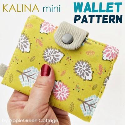 wallet sewing pattern