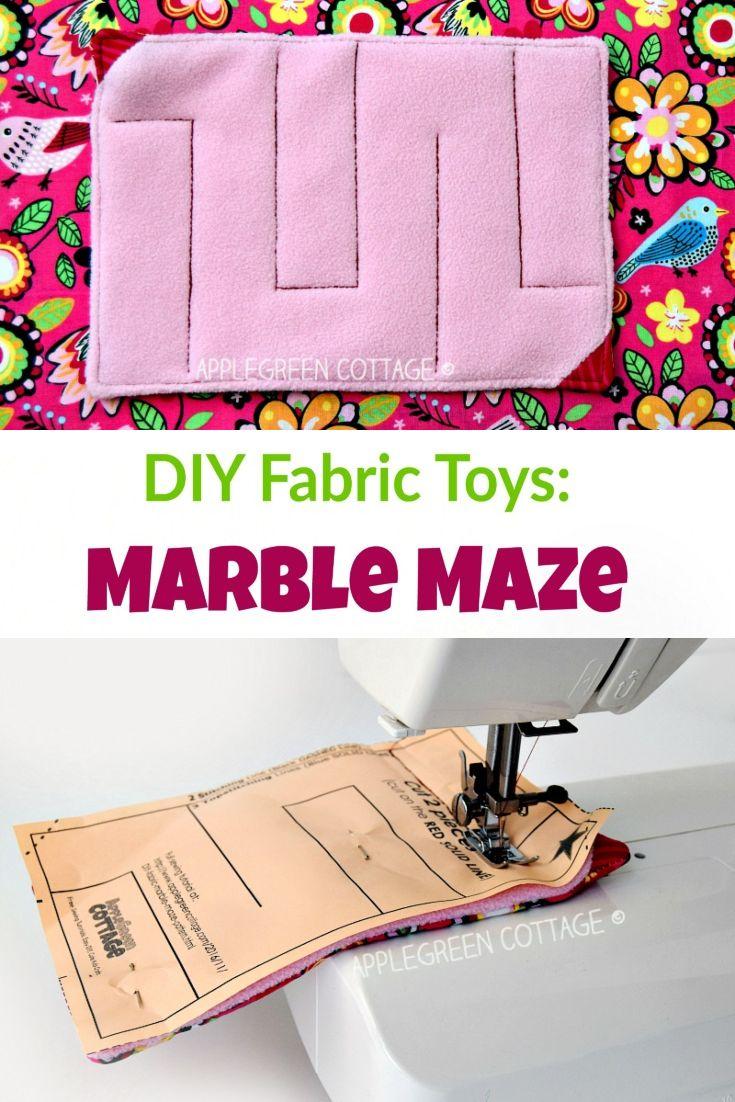 fabric marble maze