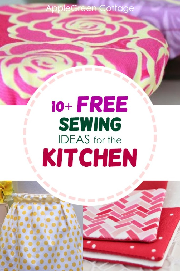 10+ Sewing Projects For the Kitchen – Free Patterns