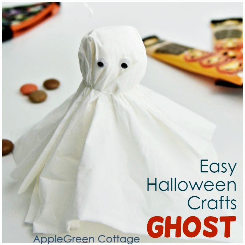 tissue paper ghost craft