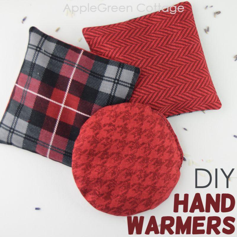 diy hand warmers to sew