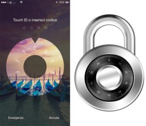 Combination Lock, un lucchetto a combinazione per la schermata di blocco
