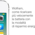 Wolfram, come ricaricare più velocemente la batteria con la modalità di risparmio energetico