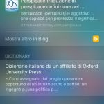 SearchDefine, il dizionario nativo di iOS accessibile dalla schermata Spotlight