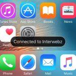 WiJoin ci avvisa con il nome delle rete Wi-Fi appena il nostro iPhone si collega