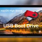 Come creare una unità USB Boot Drive di macOS High Sierra