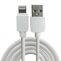 Synchronizační a nabíjecí kabel lightning pro Apple iPhone / iPad / iPod - 1m - bílý