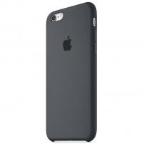 Originální silikonový kryt pro Apple iPhone 6S - uhlově šedý