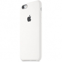 Originální silikonový kryt pro Apple iPhone 6S - bílý