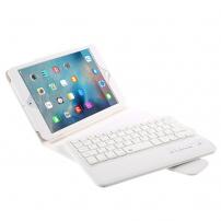 Pouzdro s Bluetooth klávesnicí pro iPad mini 4 / 5 - bílé