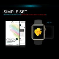 NILLKIN Ochranná fólie pro Apple Watch 42mm - čirá - ochrana proti otiskům