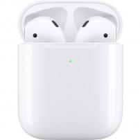 Originální Apple AirPods (2019) bezdrátová sluchátka s bezdrátovým pouzdrem