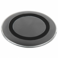 Bezdrátová Qi nabíječka pro Apple iPhone - černá