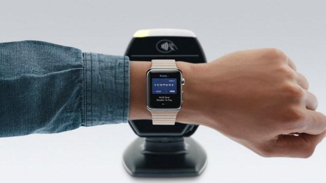 Jak platit přes Apple Watch