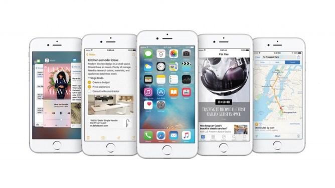 iPhone - aktualizace