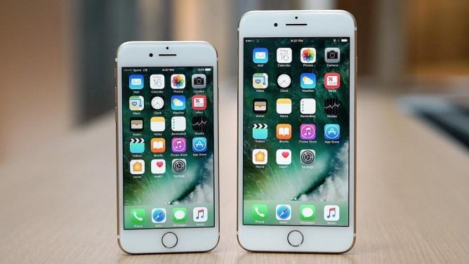 iPhone 7 și 7 Plus - display