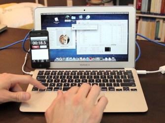 Jak připojit síťový kabel k Macbooku