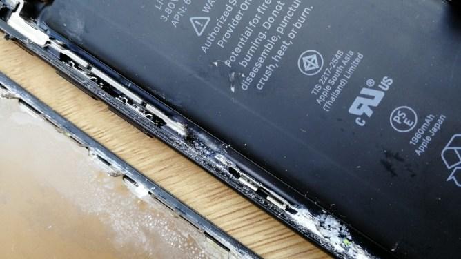 iPhone 7 - voda