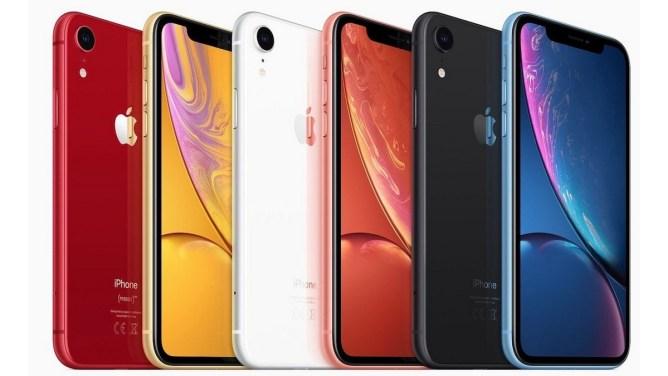 iPhone XR - colori