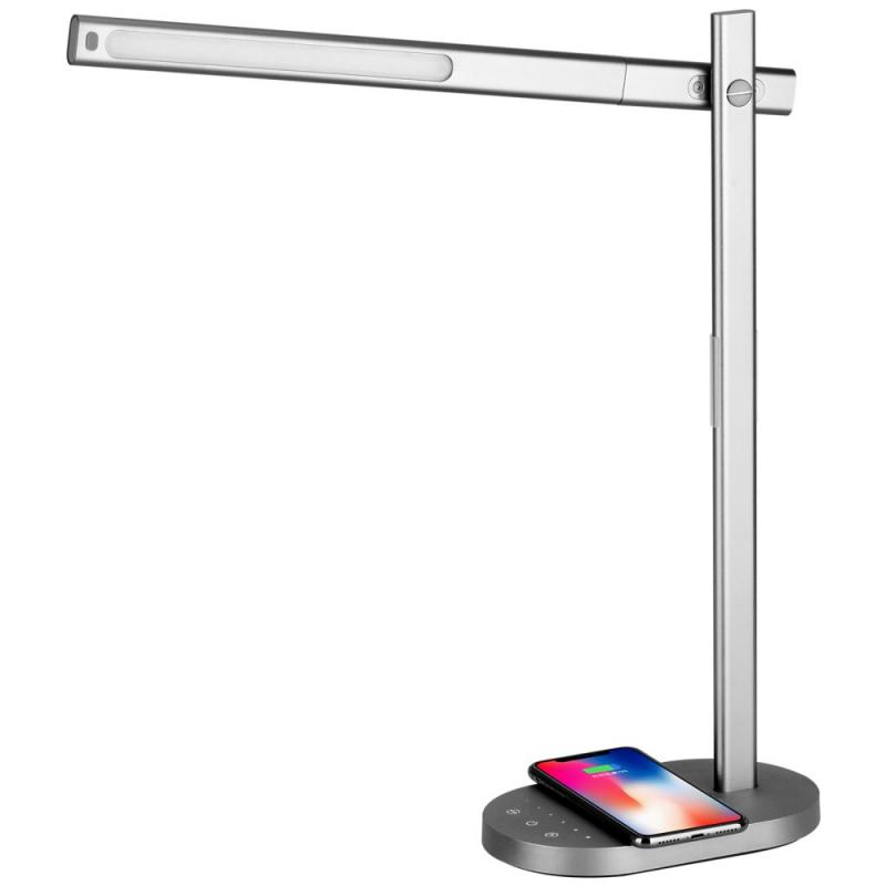 iPhone - bezdrátová nabíječka, lampička