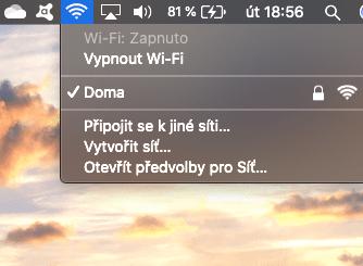Problémy s Wi-Fi na Macu úvodní snímek
