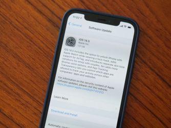 Apple vydal iOS 14.5 kterou si můžete stáhnout v nastavení svého telefonu.