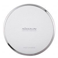 NILLKIN gyors vezeték nélküli töltő / töltő alátét Qi Magic Disk III Apple iPhone készülékhez - fehér