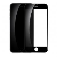 Sticlă 3D durificată BASEUS, pentru toată circumferinţa telefonului, pentru iPhone 8 / 7 - 0.23mm - negru