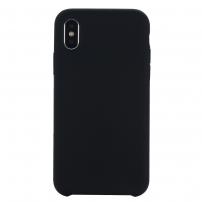 Carcasă Liquid, din silicon, pentru iPhone XR - negru