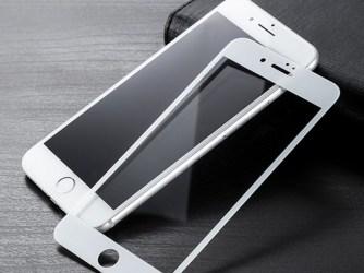 3D Sticlă durificată şi folie iPhone