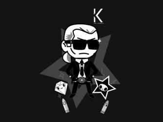 Karl Lagerfeld Cover pentru iPhone
