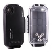 HAWEEL vodotesné puzdro do hĺbky 40m pre iPhone 8 Plus/7 Plus – čierne