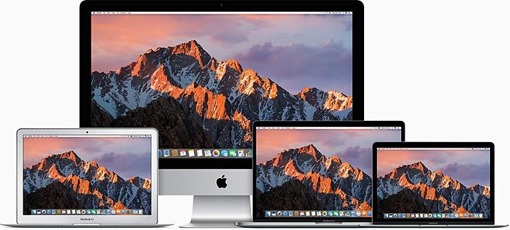Vergelijk Mac Computers