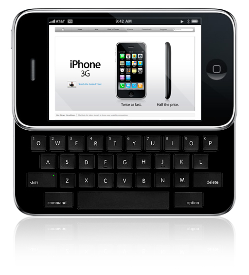 iphone qwerty