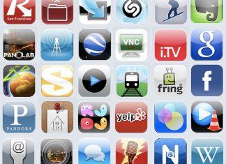 apple aplicaciones registros