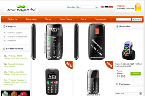 Tecnología-móvil para mayores
