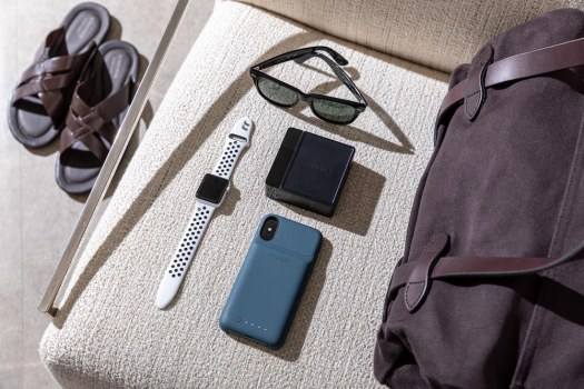 mophie in your travel bag