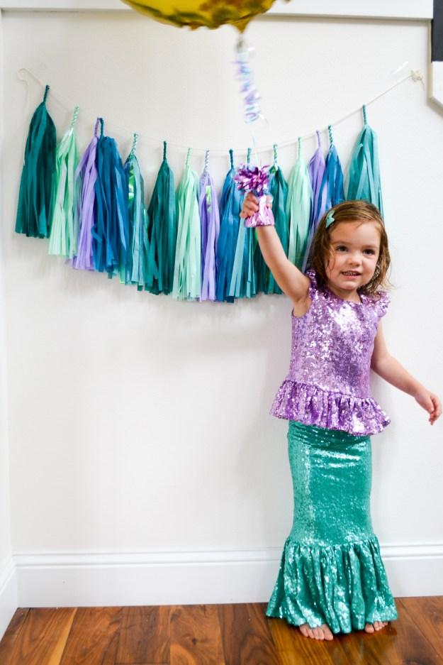 Mermaid Inspired Birthday Party