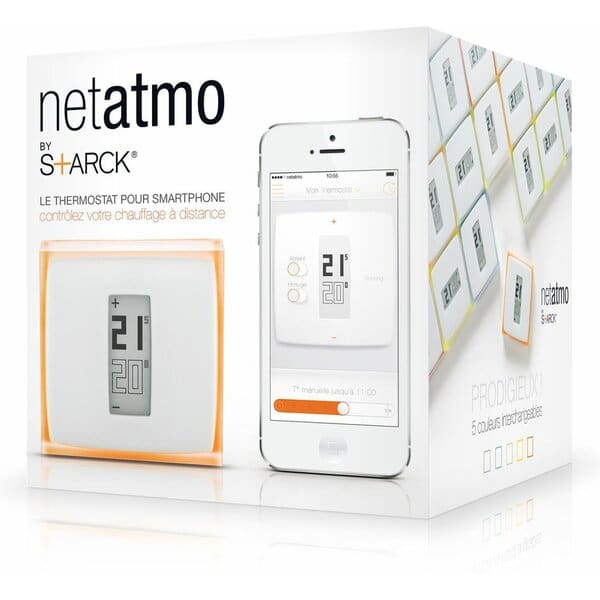 NetAtmo termostat - box
