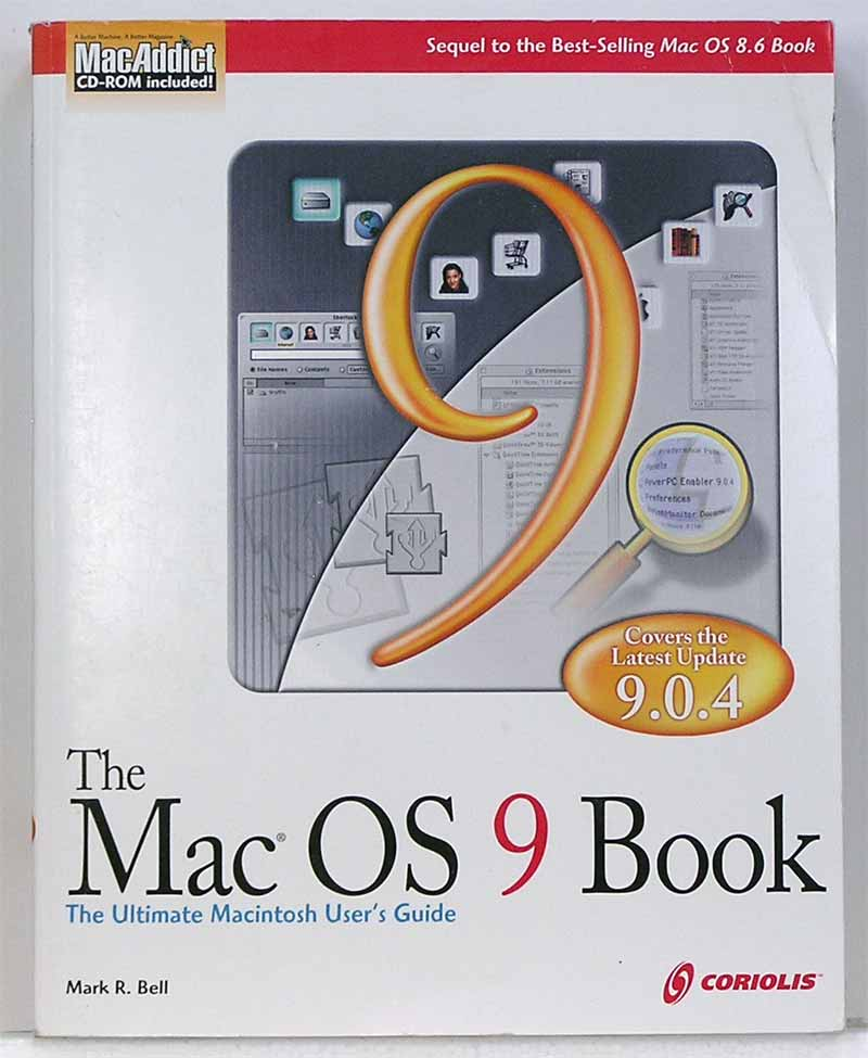 The mac os 9 book apple rescue of denver for Apple product book