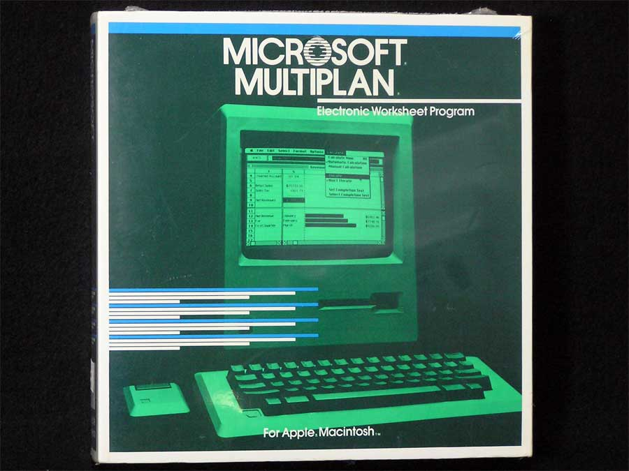 Microsoft Multiplan – Apple Rescue of Denver Multiplan