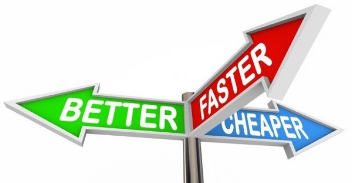 Faster, Better or Cheaper- Pick Two