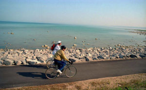 CHARLEVOIX - Bike trail from Charlevoix to Harbor Springs