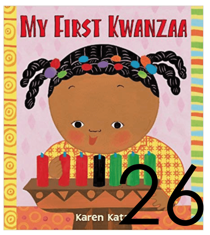 My First Kwanzaa Christmas and Holiday Book Countdown