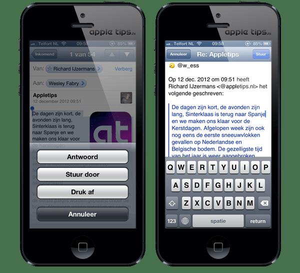 Citaten Weergeven Word : Mail: geselecteerde tekst gebruiken als citaat appletips