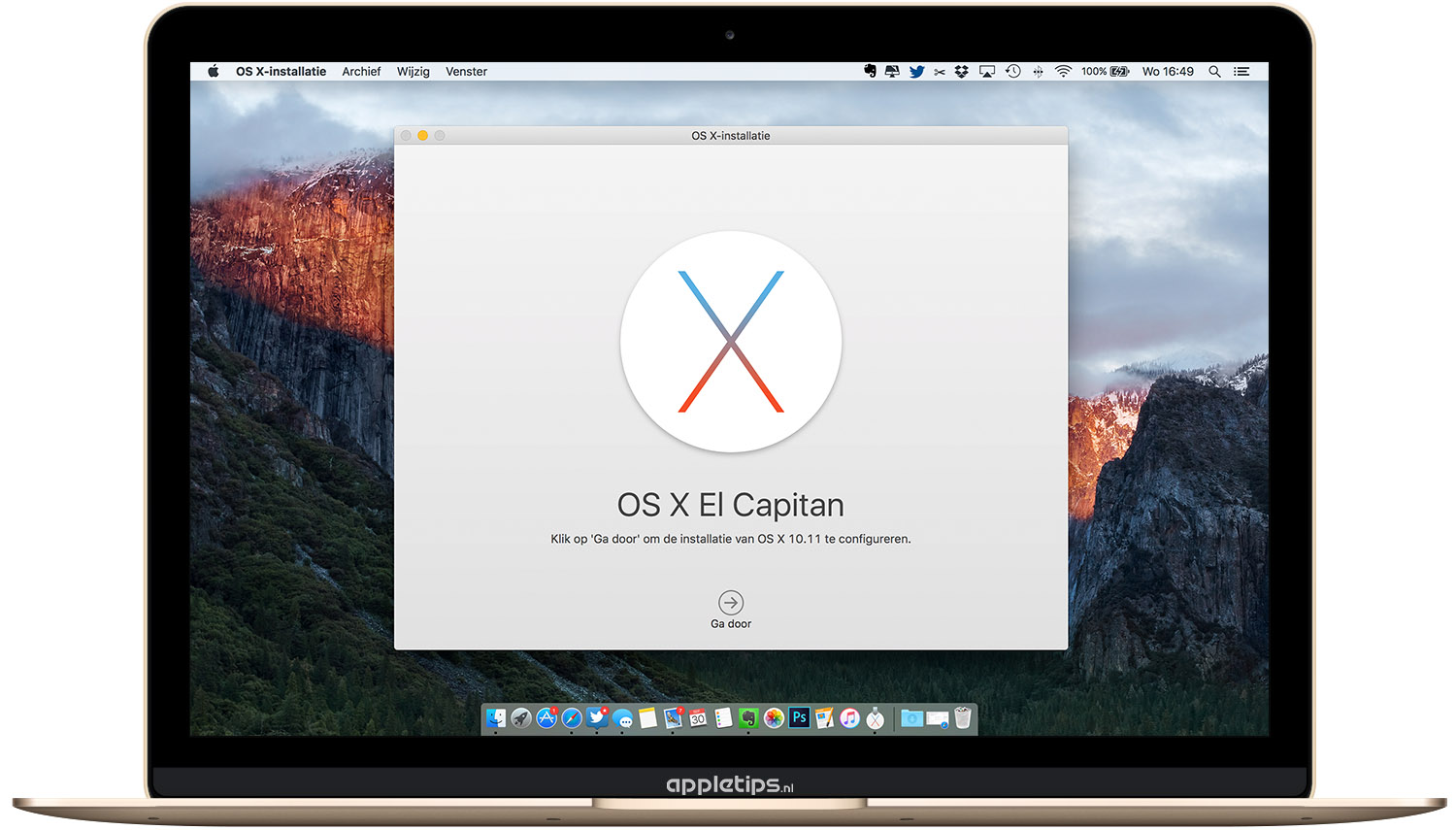 OS X El Capitan: Een bootable USB stick maken - appletips