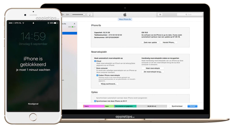 Wie hackt man ein iPhone Passcode mit iTunes?