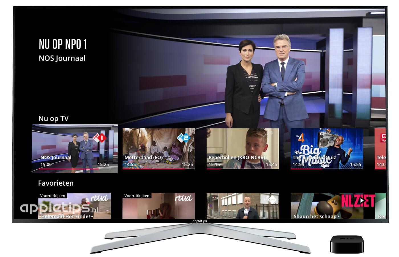 tv kijken met apple