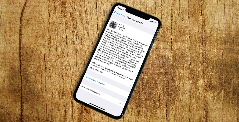 Oplossingen Voor Ios 12 Bugs En Problemen Appletips