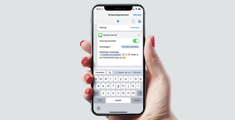 Onwijs Siri Opdrachten: Een felicitatie versturen - appletips KE-41